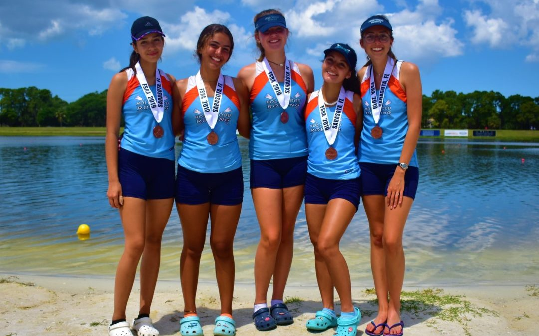 JV4+ Earns 3rd in State!